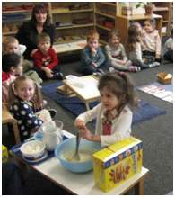 Montessori Preschool, Pre-Kindergaten in Crystal Lake, Cary, Lake in the Hills, Algonquin, McHenry